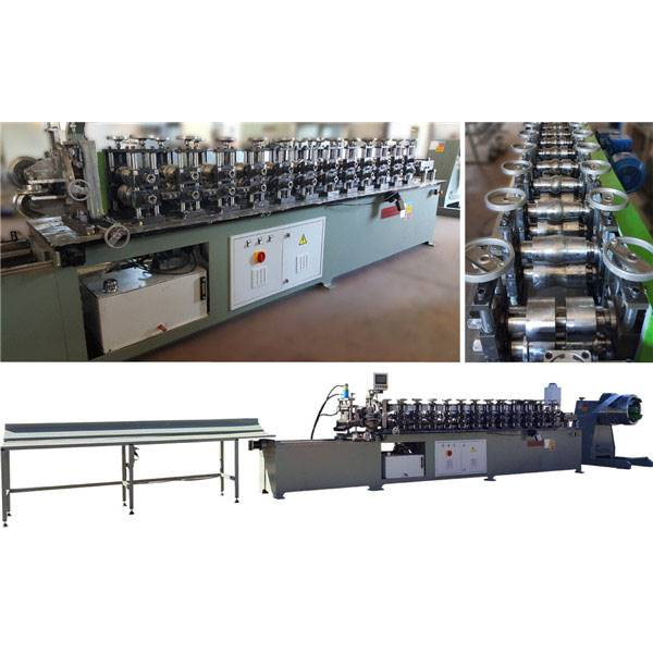 factory customized Aluminum Profiles Machine - High Speed Rolling Shutter Door Making Machine – Zhongtuo detail pictures