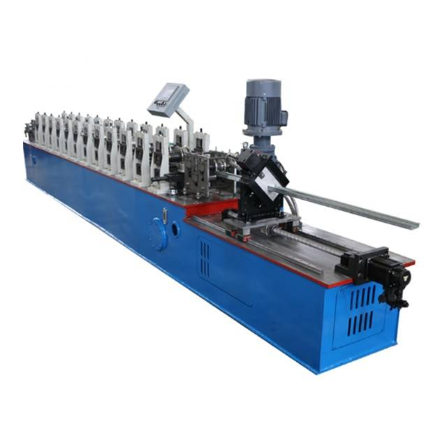 Excellent quality 10t Hydraulic Full Automatic Steel Coil Decoiler For Sale - U channel machine – Zhongtuo detail pictures