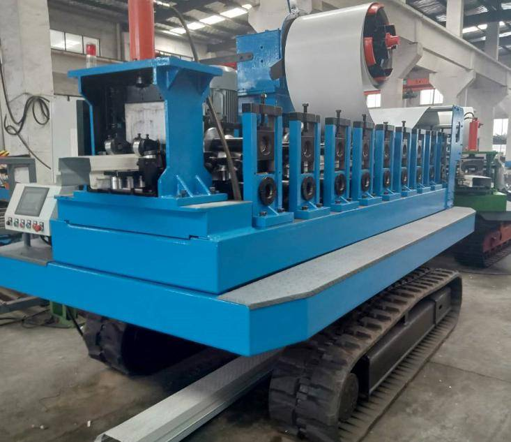 Vehicle-mounted rolling machine1