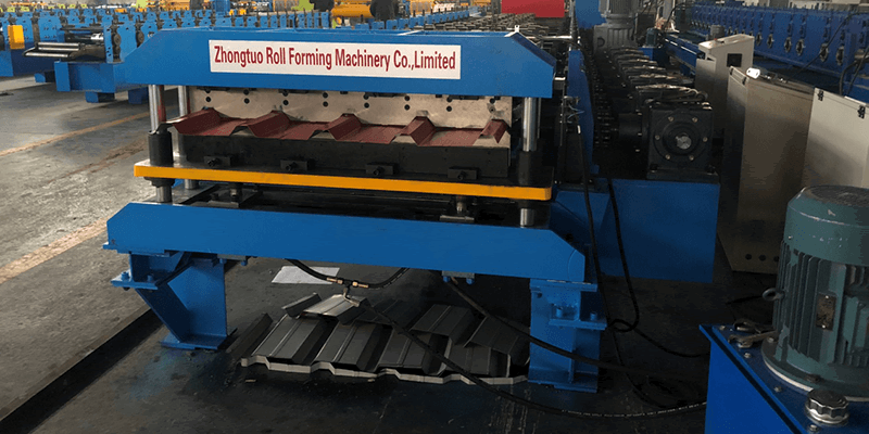 IBR roofing sheet making machine 3244
