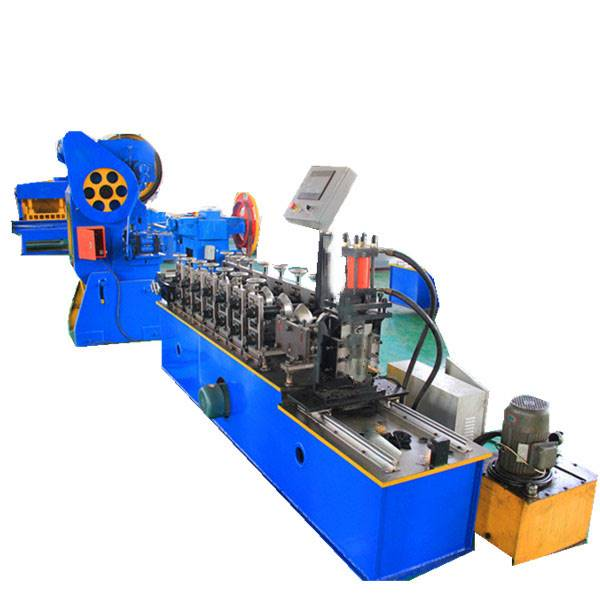Cheapest Factory Rain Gutter Making Machine - Angle Beads Roll Forming Machine – Zhongtuo