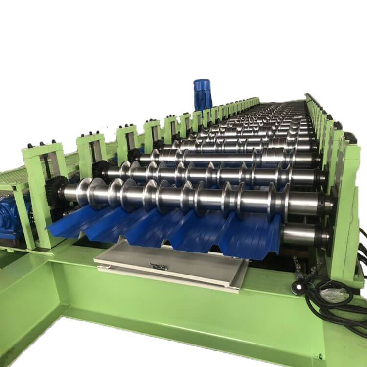 Factory best selling U Shape Forming Machine - High speed roofing sheet machine – Zhongtuo detail pictures