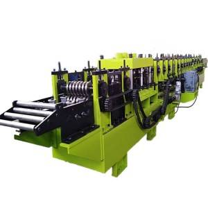 OEM/ODM Supplier Ridge Cap Making Machine - Interchangeable c/z purlin rolls forming machine – Zhongtuo