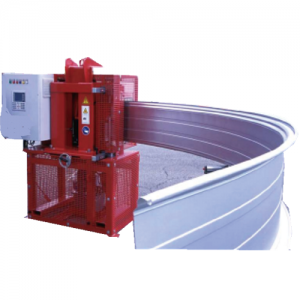 Standing seam machine, movable rolling forming machine Conformadora de chapa modelo U 45
