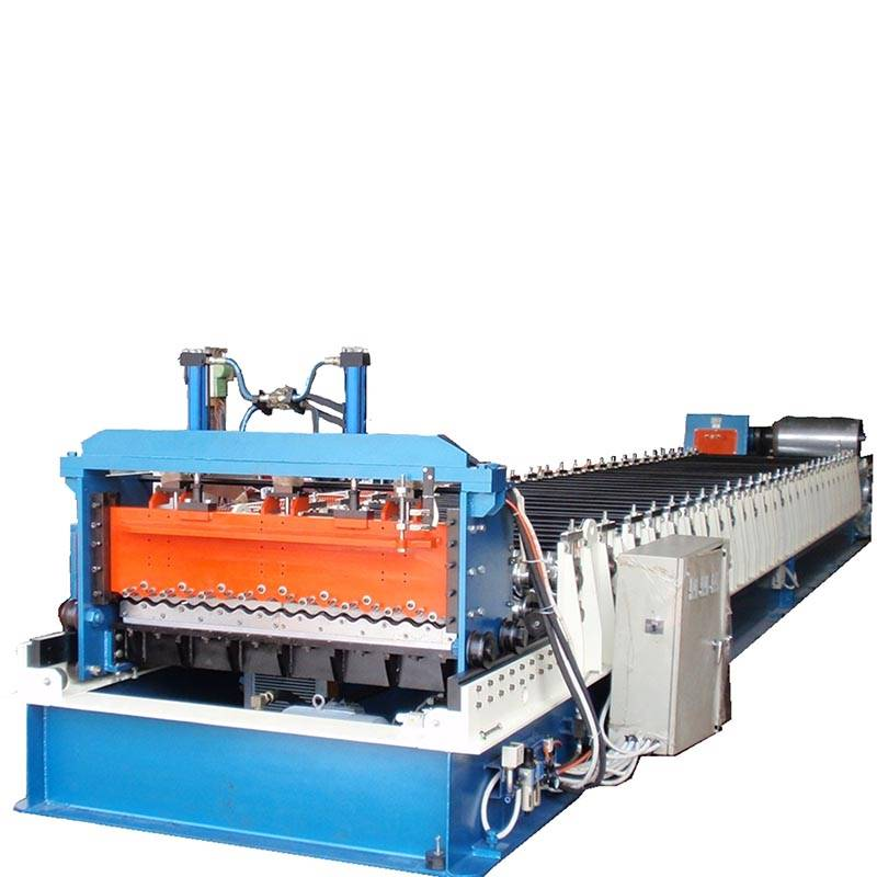 China New Product Metal Roof Tile Making Machine - Corrugated sheet roll forming machine – Zhongtuo detail pictures