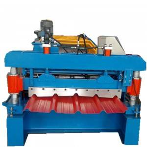 Box profile metal roofing sheet machine
