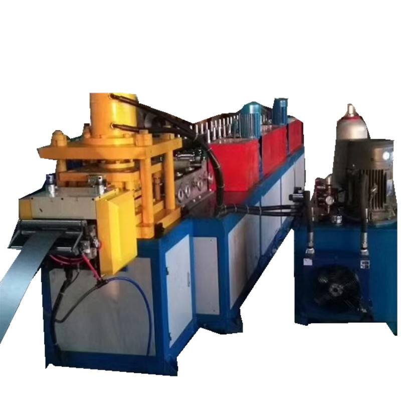 Factory made hot-sale C Channel Steel Roll Forming Machine - Butterfly holes upright machine – Zhongtuo detail pictures