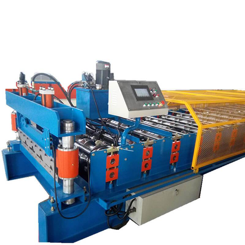 Factory For 910 Roofing Metal Deck Panels Roll Forming Machine - Metal roofing sheet machine – Zhongtuo detail pictures