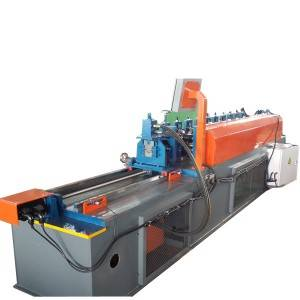 OEM/ODM China Storage Rack Shelf Panel Making Roll Forming Machine - Omega Rolling Forming Machine – Zhongtuo