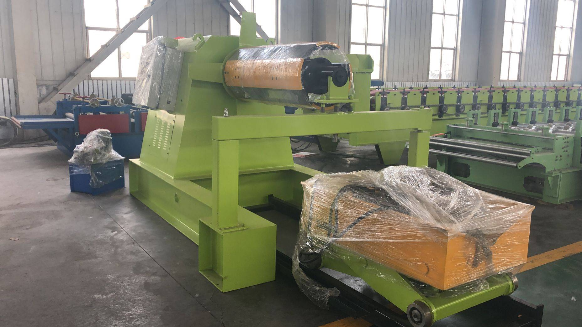 Factory made hot-sale Roof Panel Roll Forming Machine - Cut to Length Production Line – Zhongtuo detail pictures