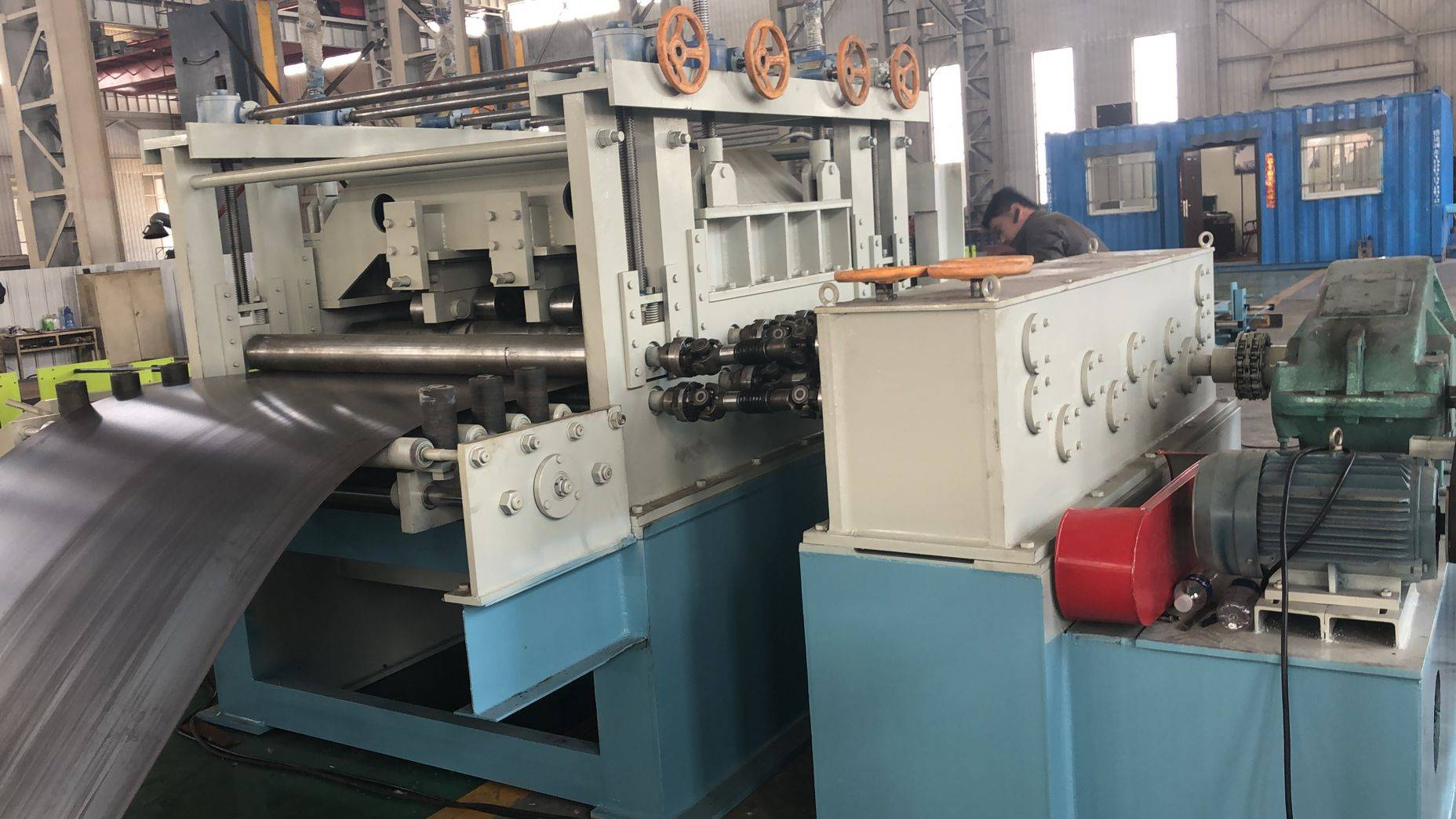 Factory For High Speed Roll Forming Machine - Cut to Length Production Line – Zhongtuo