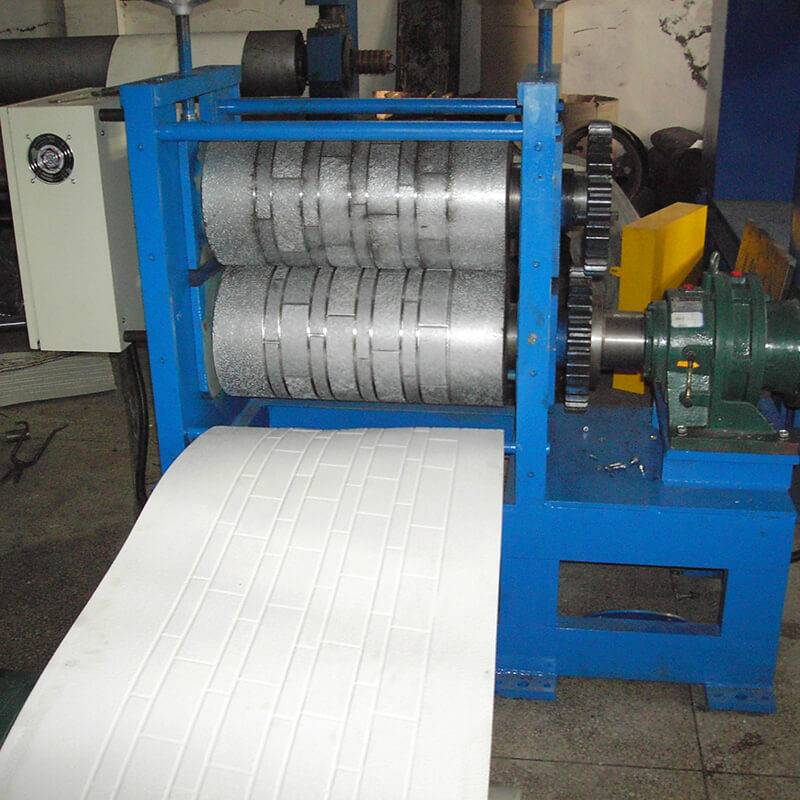 New Arrival China Step Roofing Tile Rolling Machine - Simulation Brick Pattern Metal EmbossingProduction Line – Zhongtuo