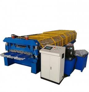 Cheap price Floor Decking Sheet Machine - IBR roofing sheet making machine – Zhongtuo