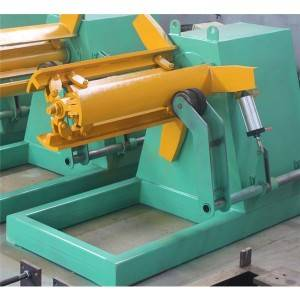 New Fashion Design for Metal Drywall Cw Sheet Roll Forming Machine - Light Duty upright pillar roll forming machine – Zhongtuo