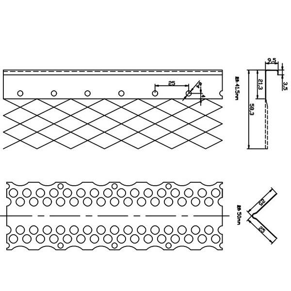 Reliable Supplier Steel Gutter Roll Former Making Machine - Angle Beads Roll Forming Machine – Zhongtuo detail pictures