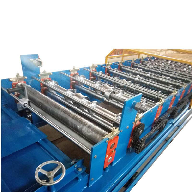 China wholesale Roller Former Machine Making Cd And Ud - Metal roofing sheet machine – Zhongtuo detail pictures