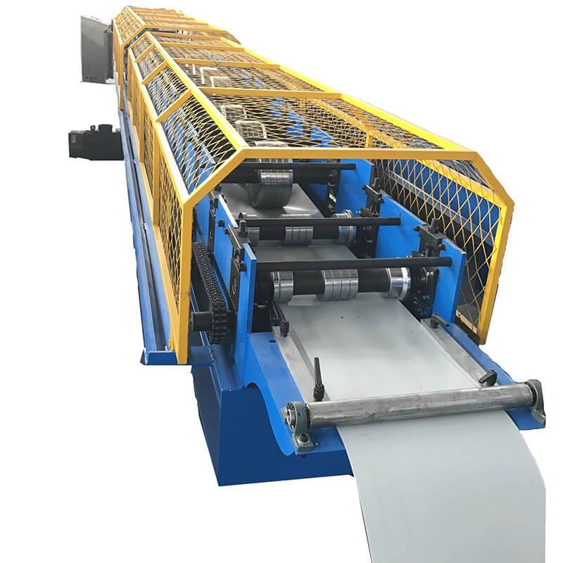 OEM/ODM Supplier High Frequency Welding Steel Pipe Machine - Square downpipe making machine – Zhongtuo