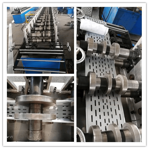 Light duty cable tray rolling machine d