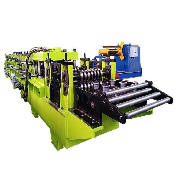 Big discounting Rain Gutter Roll Forming Machine - Interchangeable c/z purlin rolls forming machine – Zhongtuo detail pictures