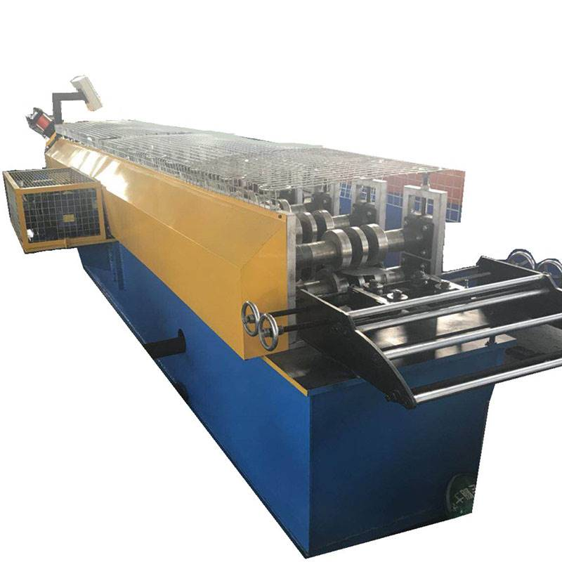 Good quality Z Perlin Making Machine - Light duty cable tray rolling machine – Zhongtuo detail pictures