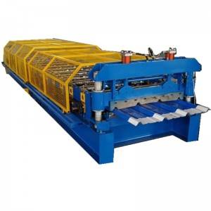China Cheap price Square Pipe Rain Pipe Machine - IBR roofing sheet making machine – Zhongtuo
