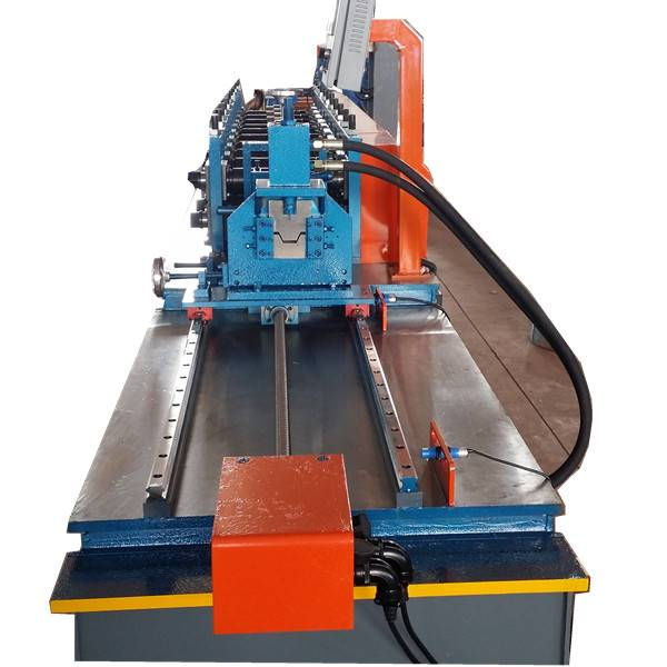 Good Wholesale Vendors Drywall Profile Machine - Omega Rolling Forming Machine – Zhongtuo detail pictures