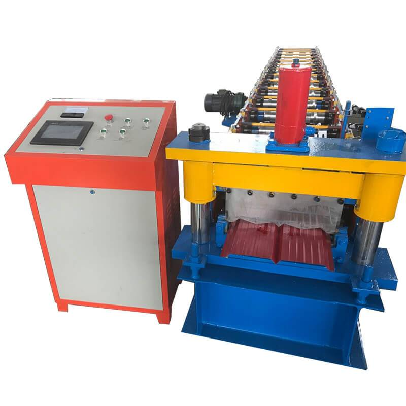 Factory Free sample Strut Channel 41×21 Rolling Forming Machine - wall cladding panel machine – Zhongtuo