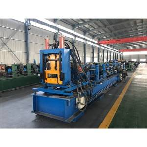 Factory source Square Steel Tube Making Machine - C60-300 Fully Automatic Adjustable C Purline Forming Machines – Zhongtuo