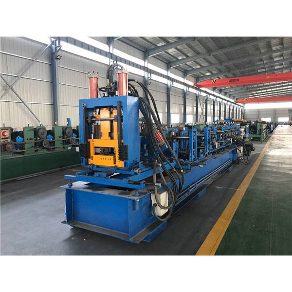 Bottom price Welded Pipe Roll Forming Machine - C60-300 Fully Automatic Adjustable C Purline Forming Machines – Zhongtuo