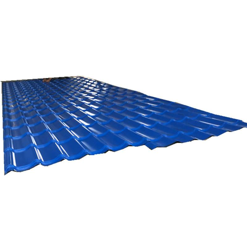 China Supplier Roof Making Machine -  Glazed Steel Tile Making Machinery for Colored Glazed Steel Roofing Sheet – Zhongtuo detail pictures