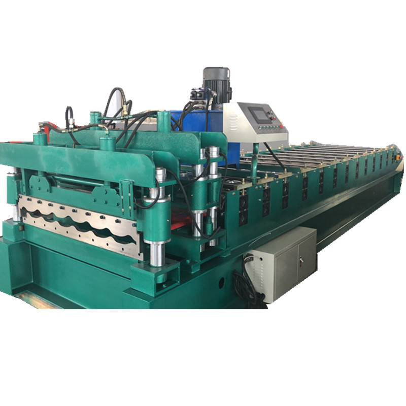 Free sample for Aluminium Pipe Cutting Machine -  Glazed Steel Tile Making Machinery for Colored Glazed Steel Roofing Sheet – Zhongtuo
