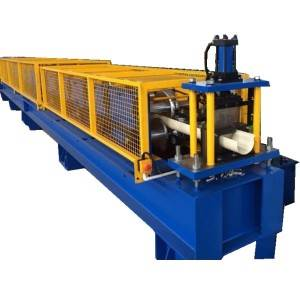 Steel Galvanized Sheet Half Round Gutter Machine