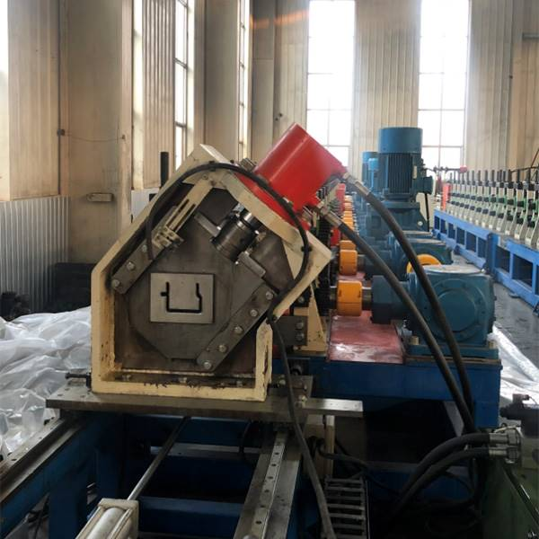Ordinary Discount Half Round Gutter Roll Forming Machine - Australian specification standards shipping living container house frame making machine – Zhongtuo