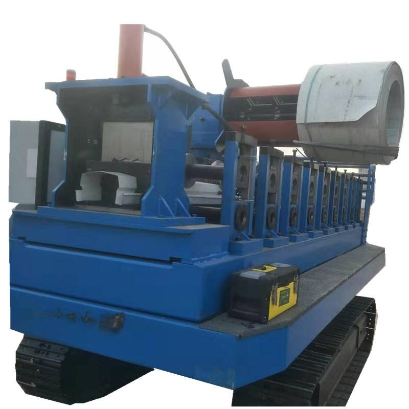 Manufacturer for Steel Tube Machine - Loading car type rolling forming machine/Vehicle-mounted rolling machine – Zhongtuo detail pictures