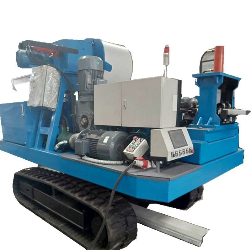 Chinese wholesale Gypsum Board Stud And Track Making Machine - Loading car type rolling forming machine/Vehicle-mounted rolling machine – Zhongtuo detail pictures