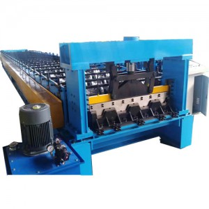 Comparative features of different metal decking machines