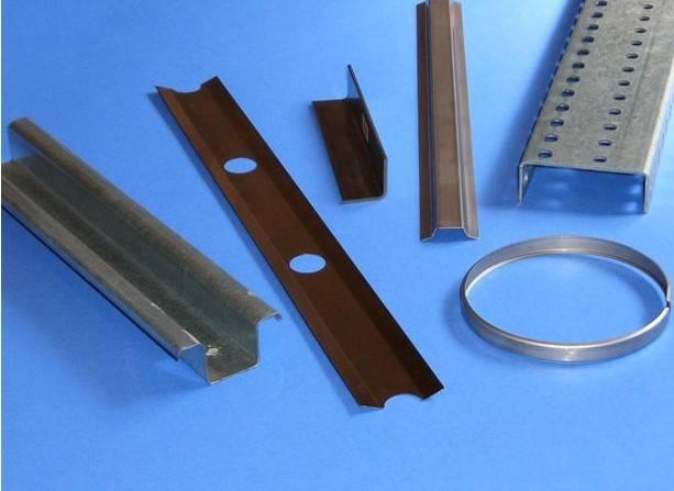 metal profiles of rolling forming machine