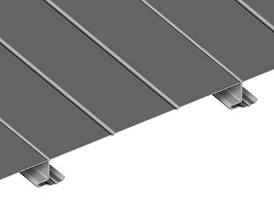 overlapping of wall cladding panel