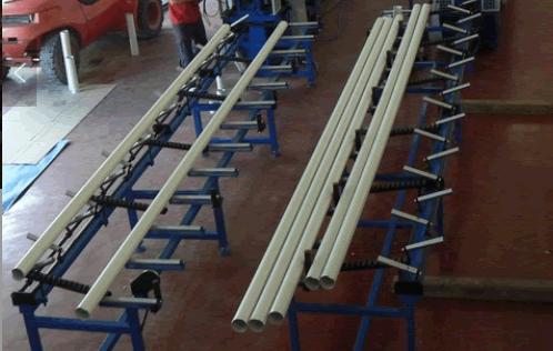 pipe machine stacker