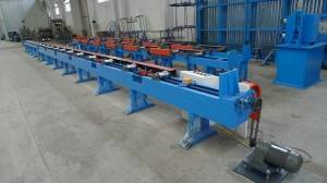 2017 China New Design Shelf Pillar Upright Post Roll Forming Machine - High speed pipe making machine – Zhongtuo