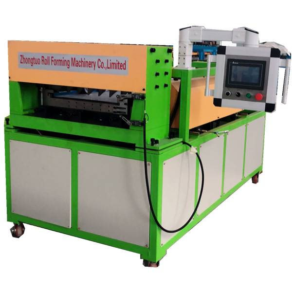 Small portable linear roll forming machine for wall panel or roofing sheet