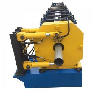Automatic Round Tube Roll Forming Machine, round rain pipe making machine