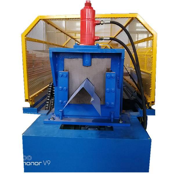Steel Ridge Cap Roll Forming Machine