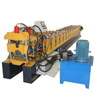 Metal Galvanized Color Steel Ridge Cap Roll Forming Machine