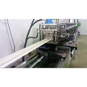 factory low price Aluminium Gutter Roll Forming Machine - High Speed Rolling Shutter Door Making Machine – Zhongtuo