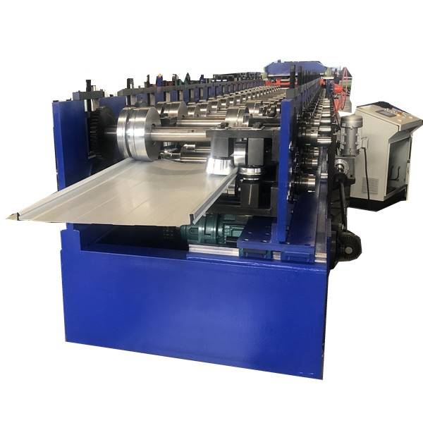 Cheapest Price Floor Deck Sheet Roll Forming Machine - Concealed fastening metal wall and fascia panel rolling forming machine – Zhongtuo detail pictures