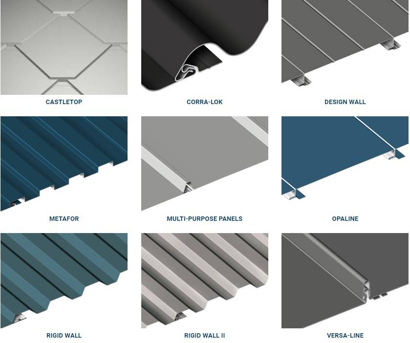 wall cladding types